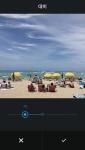 새로운 편집기능이 들어간 인스타그램 이미지(대비 조절 화면)