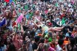 울트라 코리아 2013을 찾은 국내외 관객들 모습