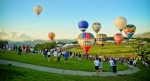 The 2014 Taiwan International Hot Air Balloon Fiesta kicked off on May 30 with 55 pilots from 12 countries participating the show.