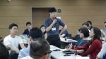 뉴스젤리 데이터저널리즘 강의가 진행중이다.