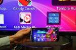 슬림포트 플러그앤플레이를 이용한 LG G3, 어플리케이션을 대형 화면과 스피커, 키보드로 확장