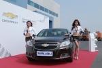 글로벌 브랜드 쉐보레가 14일, 경기도 화성 자동차 성능시험 연구소에서 프리미엄 유러피언 세단 말리부 디젤과 기존 수입 디젤 모델의 비교시승 행사를 개최했다.