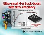 TI는 업계 최소형의 크기로 최고 성능을 제공하는 1A 및 4A 벅 부스트 레귤레이터 제품을 출시하면서, 자사의 선도적인 컨버터 포트폴리오를 확장했다고 밝혔다.