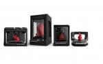영일교육시스템이 5세대 3D프린터인 Replicator Mini, Replicator, ReplicatorZ18, 3D 스캐너를 선보이고 있다.