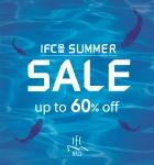IFC몰은 19일부터 여름 더위를 시원하게 날려줄 IFC몰 썸머 세일을 통하여 최대 60% 할인된 쇼핑혜택을 제공한다고 밝혔다.
