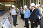 안상수 창원시장 당선인이 한국전기연구원 김맹현 대전력증설사업본부장(가장 오른쪽)으로부터 4000MVA 대전력증설사업에 대해 보고 받고 있다.