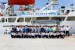 군산대학교 해양과학대학 학생 60여명이 지난 24일(화) 군산 역무선 부두에서 출항식을 갖고 30일간의 원양승선 실습에 나섰다.