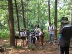 2013년 청소년 영힐링 캠프가 진행된 모습이다.