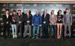 (왼쪽)양 지안핑, 필립 응, 쿵 리, 마크 피셔, 데이나 화이트, 에드워드 트레이시, 마이클 비스핑, 로즈마리 밴데브룩, 김동현