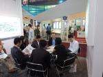 중국 CHInano에서의 중국-한국 관계자 회의 모습이다.