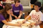 창의! 놀이 과학 교실이 진행되고 있는 모습이다.