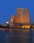 이집트 카이로의 5성급 호텔 인터콘티넨탈 카이로 세미라미스의 전경이다.