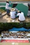 모바일 게임업체 컴투스가 지난 6월 28일, 행복한 마을 가꾸기 프로젝트에 동참했다.