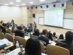 2014년 제1차 7기 전시회 통역사 교육 현장의 모습이다.