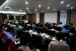 임베디드소프트웨어․시스템산업협회 김기철 전무가 개회사를 하고 있다.