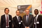 영국 상원(House of Lords)에서 열린 연례 탄소포집 및 저장 협회(CCSA) 환영회에서 에드 데이비(Ed Davey) 에너지 장관과 PSE