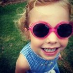 덱스트가 유아용 자외선차단 선글라스를 선보였다.