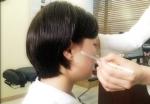 장형석한의원에서 턱관절장애 환자를 치료하고 있다.