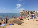 스페인 시체스 해변