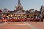 2013 제4회 송경령 국제 여름캠프 때의 모습이다.