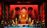 대구국제오페라축제 투란도트의 공연 장면이다.