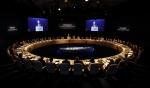 '2014 두산 글로벌 비즈니스 포럼'이 18일 영국 맨체스터에서 열렸다.