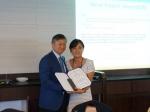 서울디지털대학교 디지털디자인학과 김미연 교수가 국제 학술대회에서 우수 논문상을 2년 연속 수상했다.