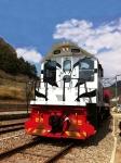 협곡열차(V-train) - 분천~철암 구간을 왕복하는 3칸으로 이루어진 관광열차이다.