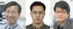 우수성과 100선 수상 연구자들. 왼쪽부터 김관호, 김광훈, 전연도 박사
