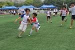 지난 12일 개최된  제2회 전국유소년 플래그풋볼 대회의 한 장면
