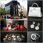 고이비토 강남본점과 판매중인 명품들이다.
