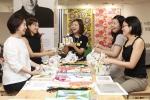 이케아 코리아의 엄마들의 일요일 참석자들의 우아한 브런치 시간.