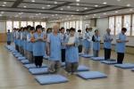 세계선센터에서 체험 수업이 진행되고 있다.
