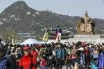 2014 거리예술 시즌제 봄, 광화문 공연 모습이다.