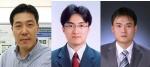 왼쪽부터 이건웅 박사, 한중탁 박사, 우종석 연구원