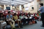 신규사회복지직공무원기본교육과정 강의 모습이다.