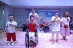 지난 8월 9일(토) 서울 시민청에서 실시된 아시아나 드림페스티벌 오디션에서 참가자들이 준비한 무대를 선보이고 있다.