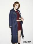 매긴이 고준희와 함께한 2014 Autumn McGINN 컬렉션 광고를 공개했다.