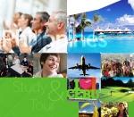 해외 어학연수와 관광을 결합한 단기 어학연수 프로그램 '스터디투어'가 취업준비생을 중심으로 인기다.