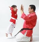 영어 체육 태권도 융합교육 태글리쉬, 짐글리쉬 교육을 하고 있는 모습이다.