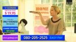 미쟝센 고데기 홈쇼핑 동영상 화면