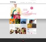 하림이 삼계탕 글로벌 브랜드 사이트 K-삼계탕 영문 메인 페이지를 오픈했다.