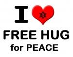 라엘리안들이 대한민국 서울에 모여 아시아 평화를 위한 프리허그 캠페인을 벌인다.