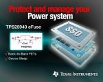 TI는 업계 최소형의 고전력 효율성을 성취하는 양방향 18V, 5A 보호 스위치 제품을 출시한다고 밝혔다.