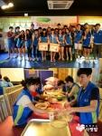 신한은행 고객들이 지역아동센터 아이들을 위해 맛있는 기부에 참여했다.