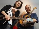 일본 초청 연주팀 쇼타 사나다(Shota Sanada) 와 아키토시 스즈키(Akitoshi Suzuki) (사진제공: 밤벨뮤직)