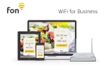 Fon은 중소규모 사업자들을 위한 새로운 와이파이 솔루션인 WiFi for Business를 출시했다.