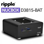 밀은 무소음 공정이 적용된 Ripple NUCBOX D3815 베어본(2종)을 출시한다고 19일 밝혔다.