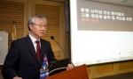 송해준 교수가 주제발표를 하고 있다.