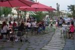 빨간의자 공연 전경 및 야외 아트마켓 전경